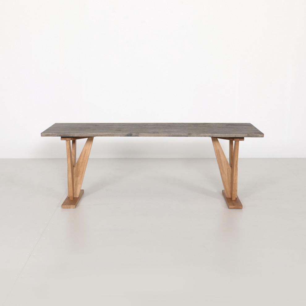 조이 1900 테이블(그레이)